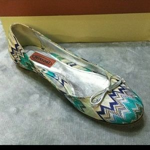 Authentic Missoni Chevron Flats